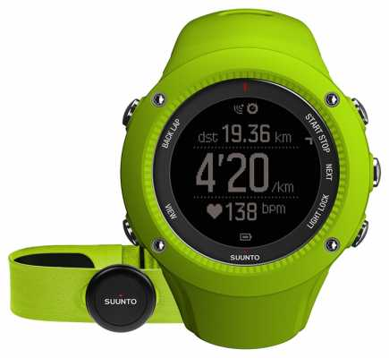 Suunto Ambit3 Run Lime (HR) SS021261000