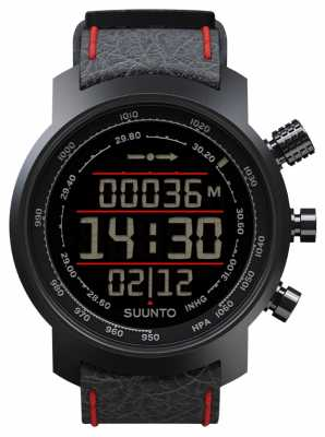 Suunto Elementum Terra Black/Red Leather SS019171000