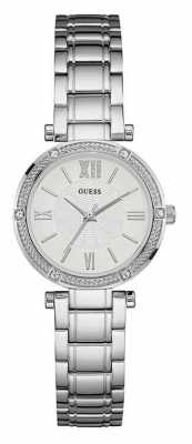 Guess Womens Park Ave South Stainless Steel W0767L1