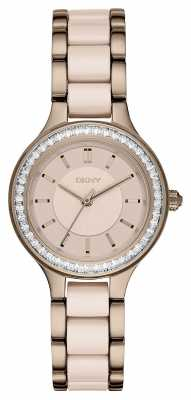 DKNY Womens Chambers PVD Plated Ceramic NY2467