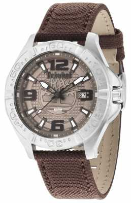 Timberland Mens Brown Nylon Strap 14643JS/13
