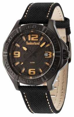 Timberland Mens Black Strap Grey Dial 14643JSB/61