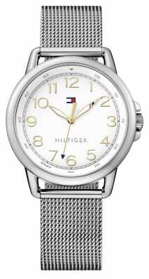 Tommy Hilfiger Womens Stainless Steel Mesh Bracelet 1781658