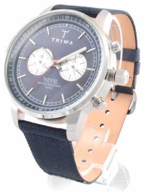 Triwa Unisex Blue Chronograph Dial NEST108CL060712