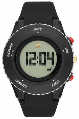 adidas Performance Mens Black Silicone Strap ADP3220