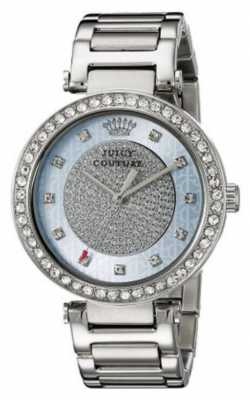 Juicy Couture Womens Silver Strap Round Silver Dial 1901266