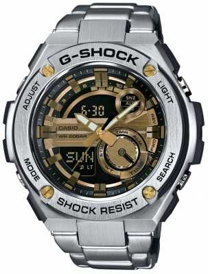 Casio G-Steel G-Shock Alarm Chronograph GST-210D-9AER