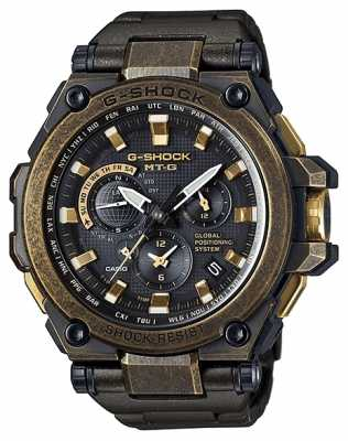 Casio Premium Hybrid GPS G-Shock MT-G Series Aged Metal MTG-G1000BS-1AER