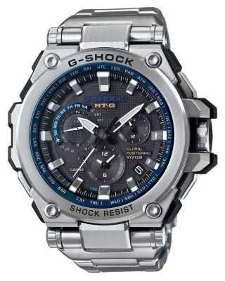 Casio Premium Hybrid GPS G-Shock MT-G Stainless Steel MTG-G1000D-1A2ER