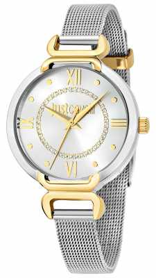Just Cavalli Hook J 32mm Silver Dial R7253526502