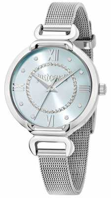 Just Cavalli Hook J 32mm Blue Dial R7253526503