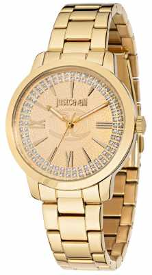 Just Cavalli Class J 38mm Yellow Gold Plated R7253574503