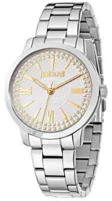 Just Cavalli Class J 38mm White/Silver Dial R7253574504