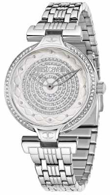 Just Cavalli Lady J 36mm Silver/White Dial R7253579504