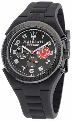 Maserati Pnuematic Multi Black/Red Dial R8851115006