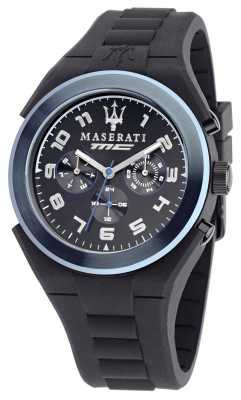 Maserati Pnuematic Multi Black/Blue Dial R8851115007