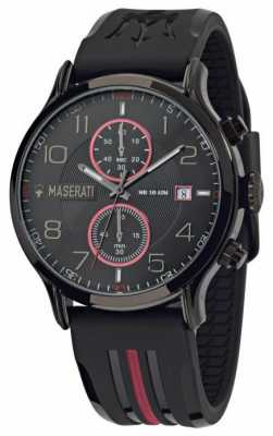Maserati Epoca 43mm Chronograph Black Dial R8871618005