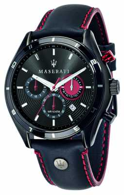 Maserati Sorpasso 45mm Chrono Black Dial R8871624002
