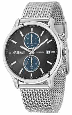 Maserati Epoca 43mm Chrono Grey Dial Mesh R8873618003
