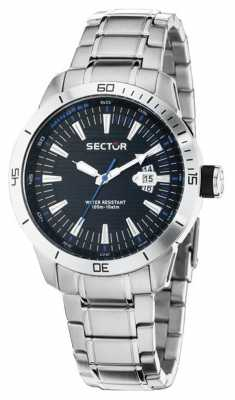 Sector 44mm GMT Blue Dial Bracelet R3253587001