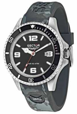 Sector 43mm Case Black Dial Grey R3251161027