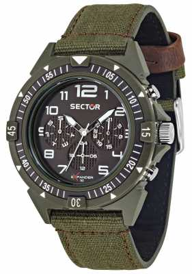 Sector EXPANDER 44mm Multifunction Brown Dial R3251197130