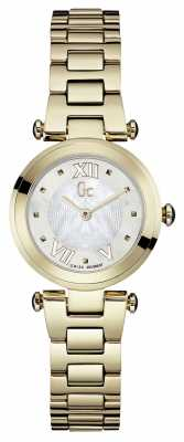 Gc Womens Gc Ladychic Gold PVD Plated Y07008L1