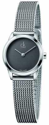 Calvin Klein Womens Minimal Grey Dial K3M2312X