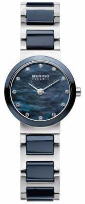 Bering Womens Ceramic Blue Dial Blue Strap 10729-787