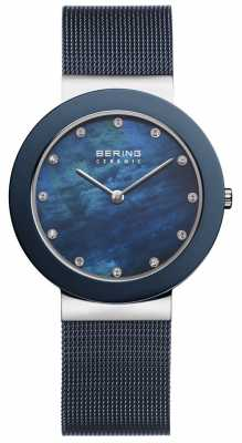 Bering Womens Blue Strap Blue Dial 11435-387