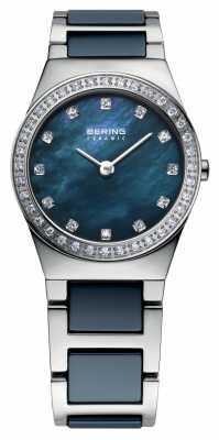 Bering Womens Navy Stainless Steel 32426-707