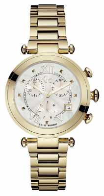 Gc Womens Gc Ladychic Gold PVD Plated Y05008M1