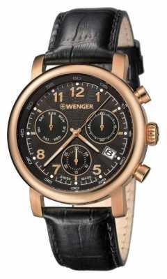 Wenger Urban Classic Chronograph Black 01.1043.107
