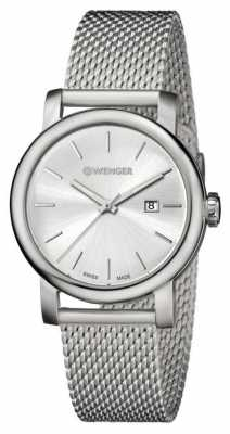 Wenger Womens Urban Vintage Silver Dial Steel Strap 01.1021.116
