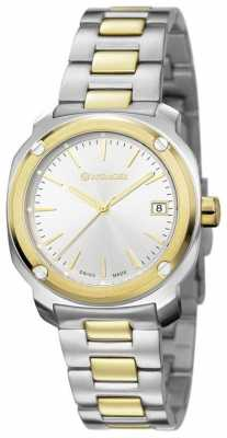 Wenger Womens Stainless Steel Quartz Analog 01.1121.106
