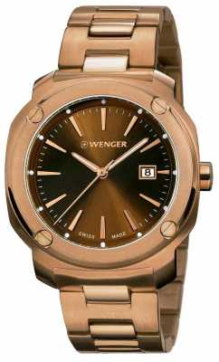 Wenger Womens Edge Index Gold Plated 01.1121.105