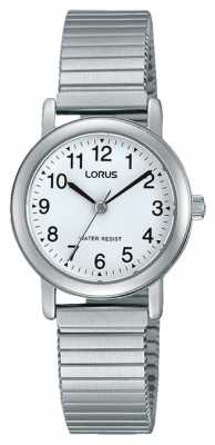 Lorus Womens Expander Silver Strap Round Dial RRS81VX9