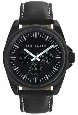 Ted Baker 42mm Blk Ip Blk Dial TE10025262