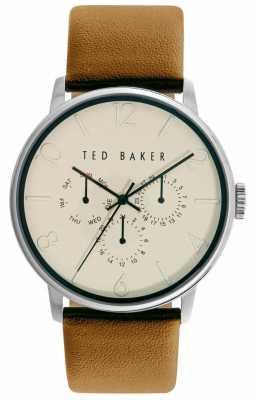 Ted Baker Unisex Cream With Three Hand Movement TE10029569