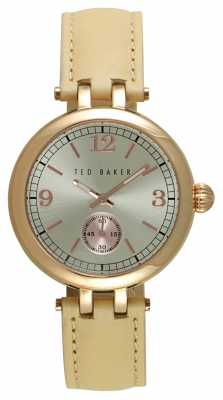 Ted Baker Ladies 36mm Rose Gold Plated Case TE10027794