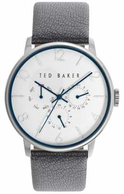 Ted Baker Unisex 42mm Case White Face TE10029567