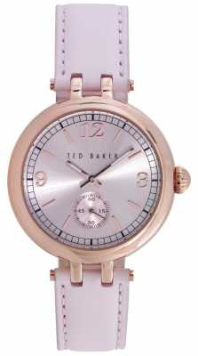Ted Baker 36mm Rgip Case Pink TE10023476