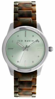 Ted Baker 36mm Ss Mint Grn Dial TE10025278