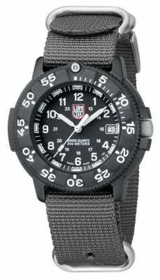 Luminox Original Navy Seal Grey Canvas Strap XS.3001.NATO.GRY