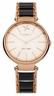 Fiorelli Womens Rose Gold Black Leather FO011BRGM