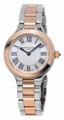 Frederique Constant Classics Delight Womens Metal Bracelet Rose Gold Plated FC-200M1ER32B