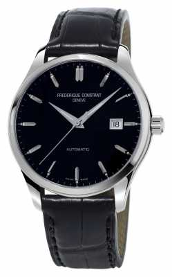 Frederique Constant Classics Index Automatic Mens Black Dial FC-303B5B6