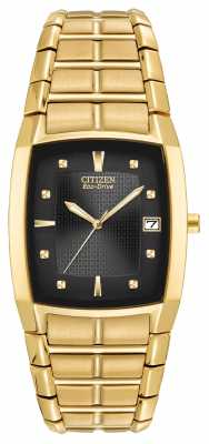 Citizen Mens Ion Plated Mens Bracelet BM6552-52E
