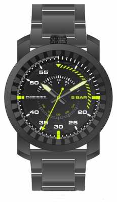 Diesel Mens Rig Gunmetal Bracelet Watch DZ1751