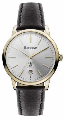 Barbour Seaton Womens Watch Silver Dial BB041SLBK